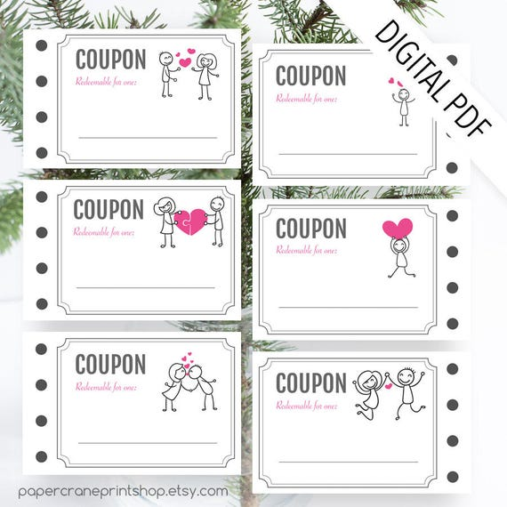 Sexy coupon book template