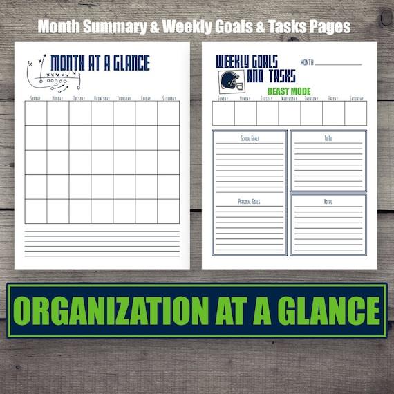 student planner homeschool teacher letter size planner etsy