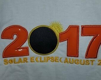 2017 Solar Eclipse Applique