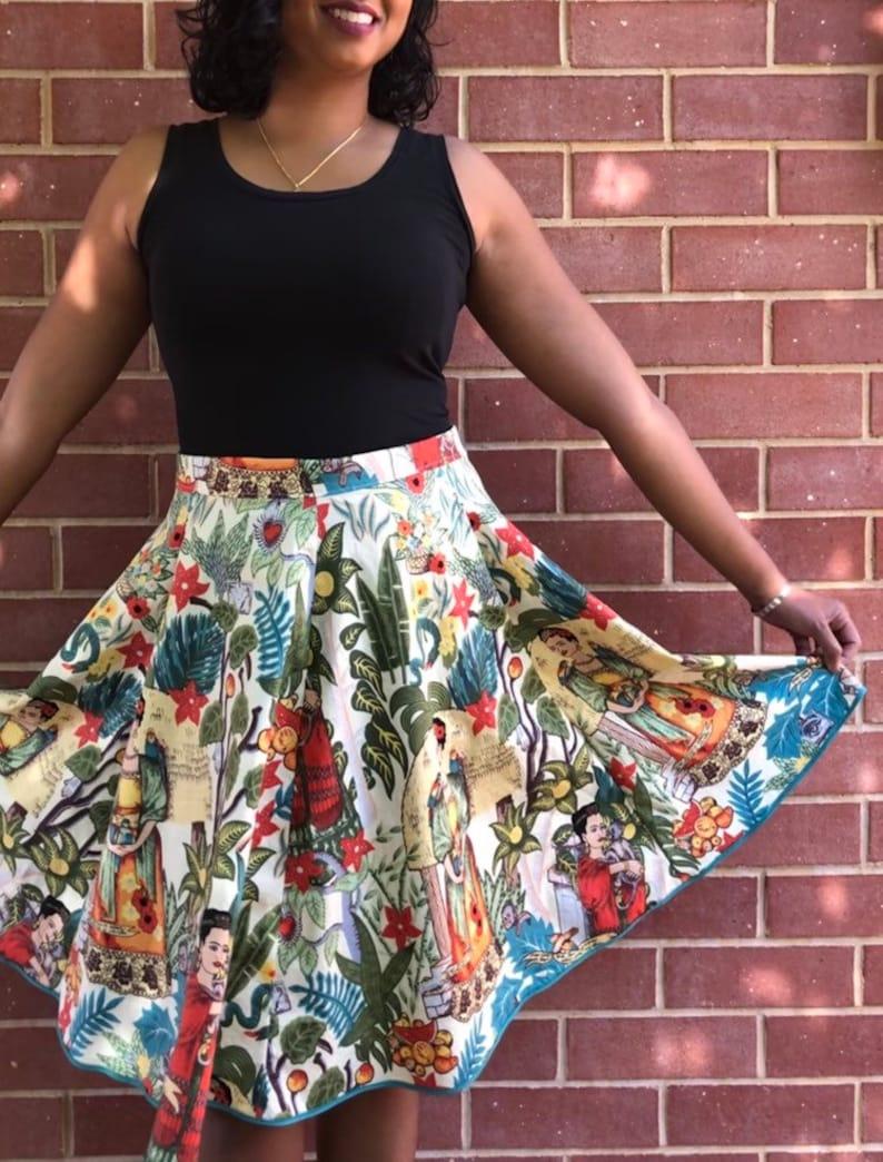 Frida Kahlo Skirt