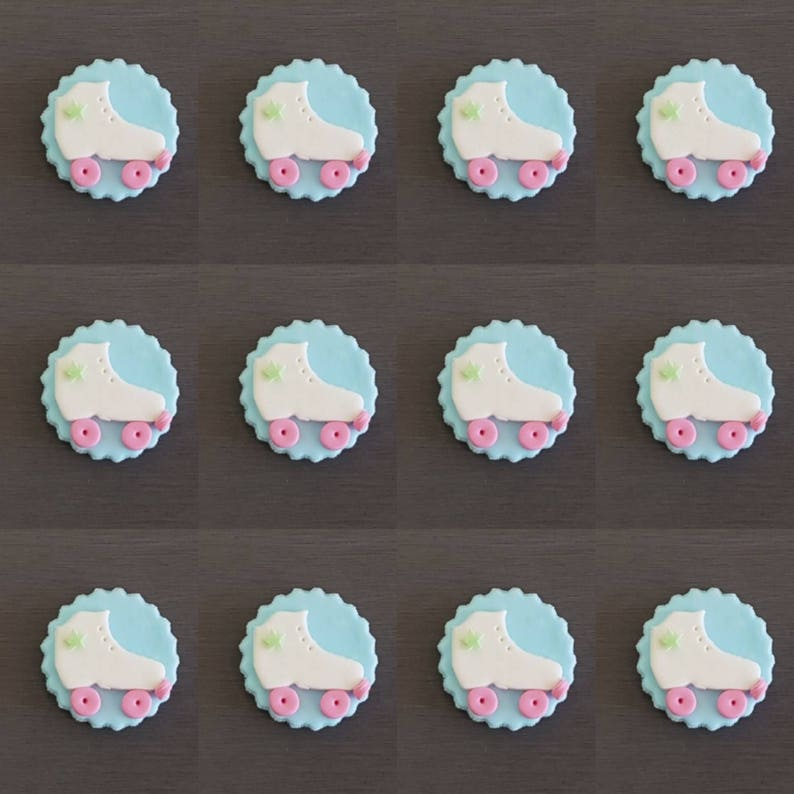 24 x FIRE ENGINES HAPPY BIRTHDAY EDIBLE CUPCAKE TOPPERS CAKE RICE PAPER 8083A