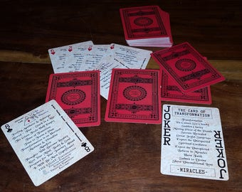 GIVE PSYCHIC READINGS Now! With these Playing Cards you can give accurate Psychic Readings Instantly! (Rosa Rossa Edition)