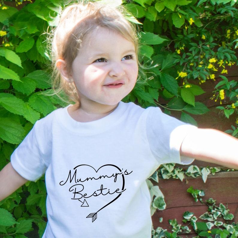 Little Princess T-Shirt Mum maman fille cadeau présent Top de la momie