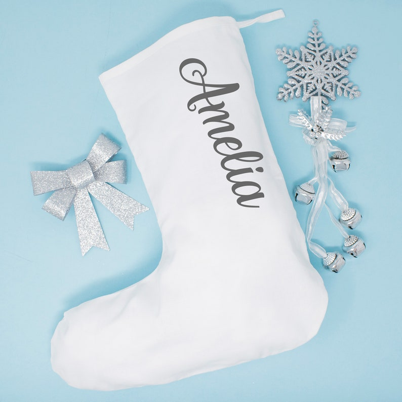 2e70cf2aabc Personalised Christmas Stocking Xmas Stocking Family Festive