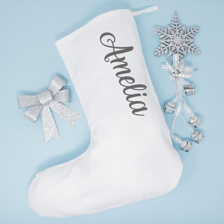 Personalised Christmas Stocking Xmas Stocking Family Festive | Etsy