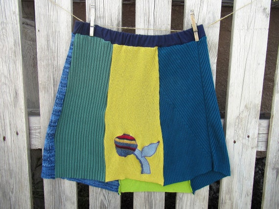 Harlow Upcycled Sweater Skirt