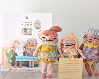 Ricorumi Crazy Cute Family Crochet Pattern Booklet