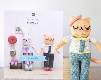 Ricorumi Dress Me Crochet Pattern Booklet