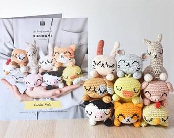 Ricorumi Pocket Pals Crochet Pattern Booklet