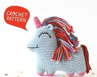 Uni Queen Crochet Pattern | Tiny Curl Amigurumi Pattern, Unicorn Crochet Pattern, Unicorn Amigurumi Pattern
