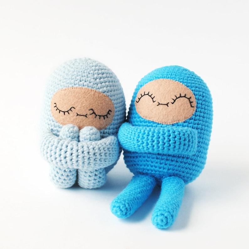Curlie Crochet Pattern  Tiny Curl Amigurumi Pattern Crochet image 0