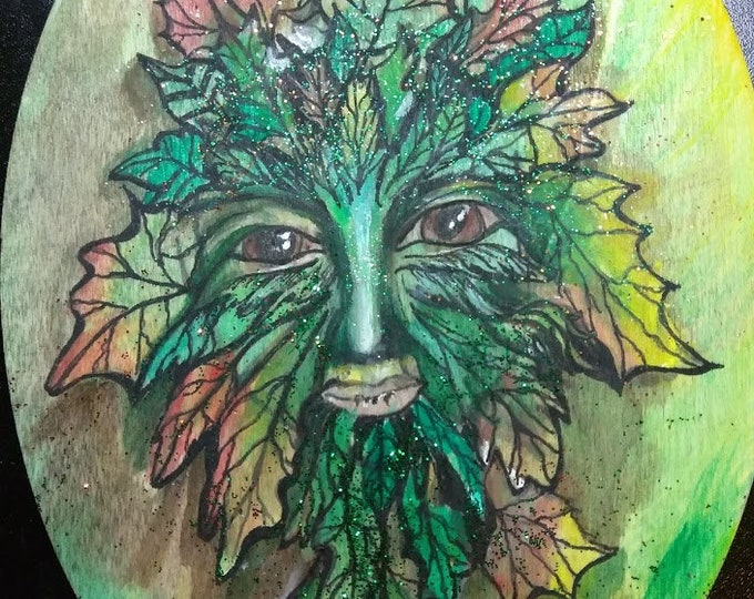 Featured listing image: Green Leaf Man