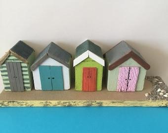 Beach Huts, Seaside,Beach Shack, Beach Life, Seashore, Summer Holidays, Home Decor, Gift Idea