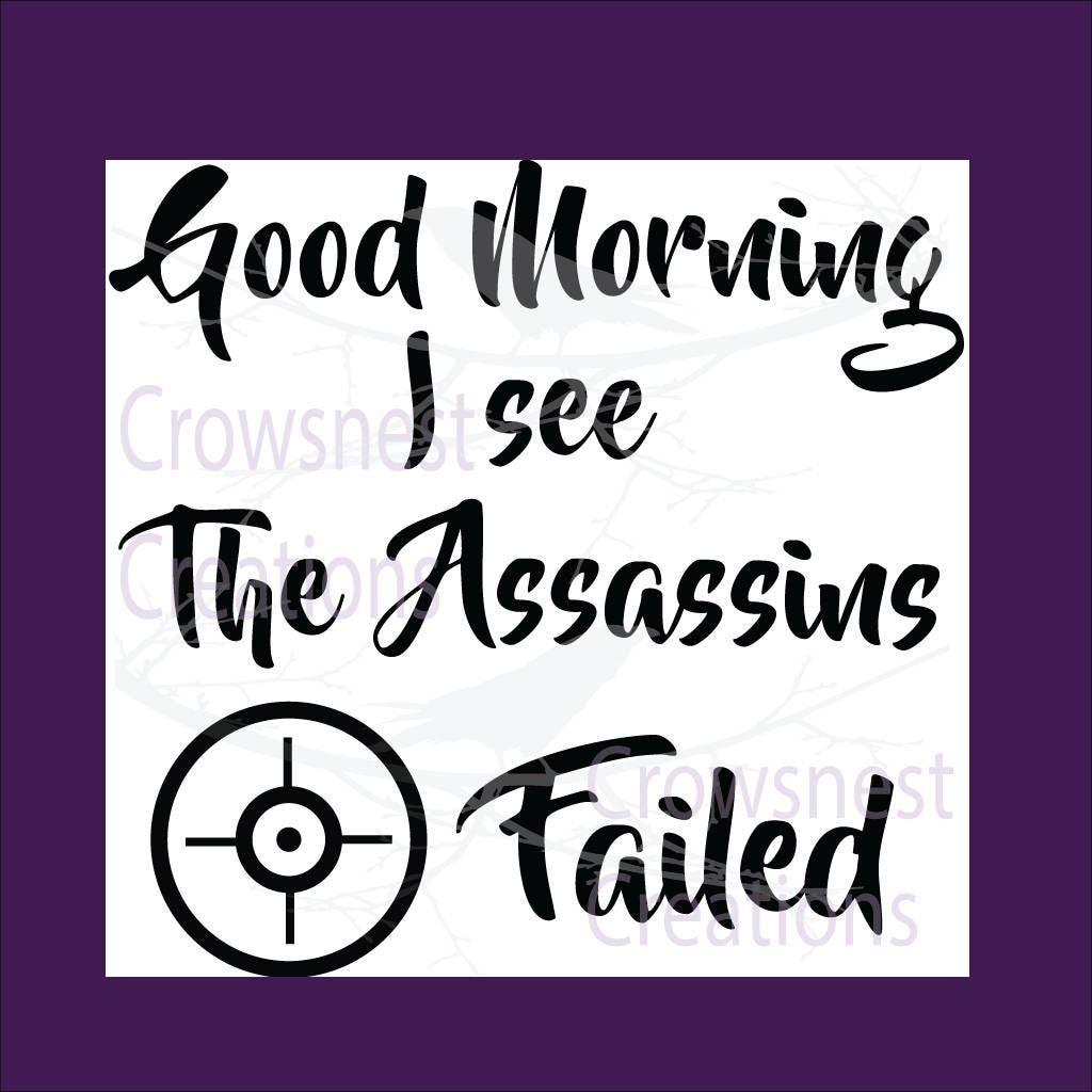 lustiges Geschenk diy guten Morgen guten Morgen Svg lustige | Etsy