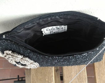 Handmade clutch bag