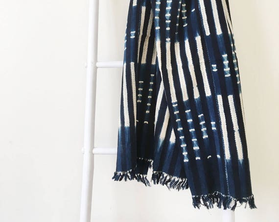 Check & Stripe Pattern Throw