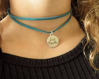 Choker Necklace, Leather Choker
