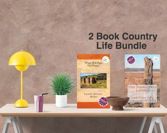 2 Book Bundle| This Tumbleweed Landed | When Will Papa Get Home?|southeastern Colorado, Ranch, Memoir, Historical Fic.