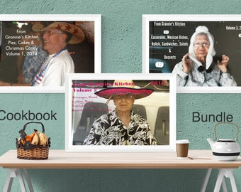 3 Book Bundle |  Cookbook Series | Recipes, Country Cooking, Homemade