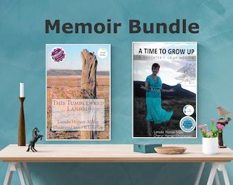 Memoir Book and Workbook Bundle | Memoirs | Memoir Workbook & A Time to Grow Up: A Daughter's Grief Memoir