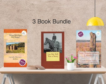 3 Book Bundle | This Tumbleweed Landed |When Will Papa Get Home? |Let Me Tell You a Story |Colorado | Memoir/Histor. Fic.