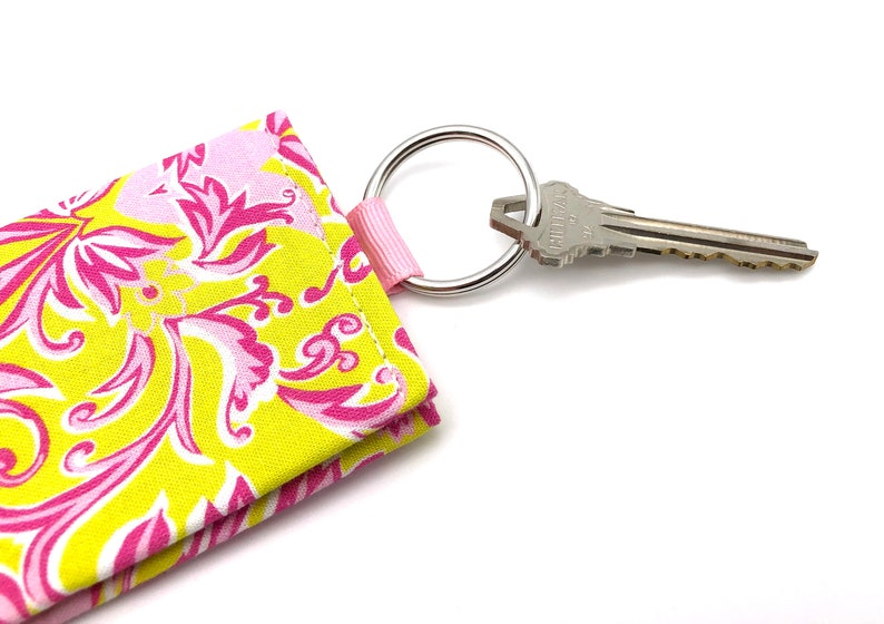 Keychain w ID Holder  Credit Card Holder  Mini Wallet  Business Card Holder  Gift Card Holder