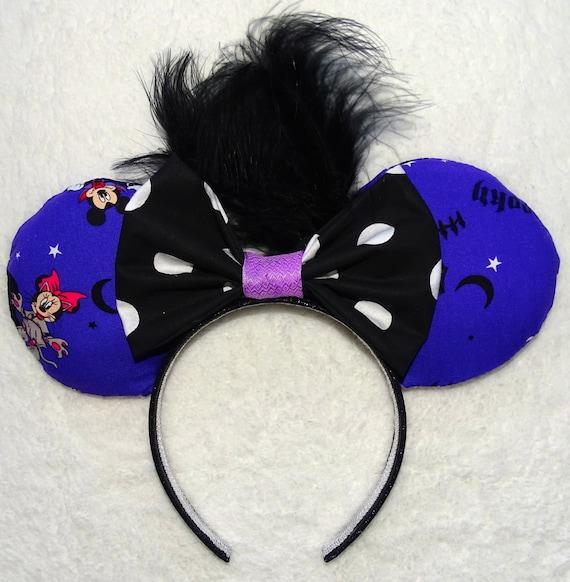 Halloween Mickey Mouse Headband Ears Minnie Mouse Headband