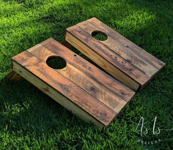 Incredible Wood Cornhole Boards Game Wood Bean Bag Toss Baggo Tailgating Outdoor Wedding Christmas Gift For Him Birthday Present Thanksgiving Pdpeps Interior Chair Design Pdpepsorg