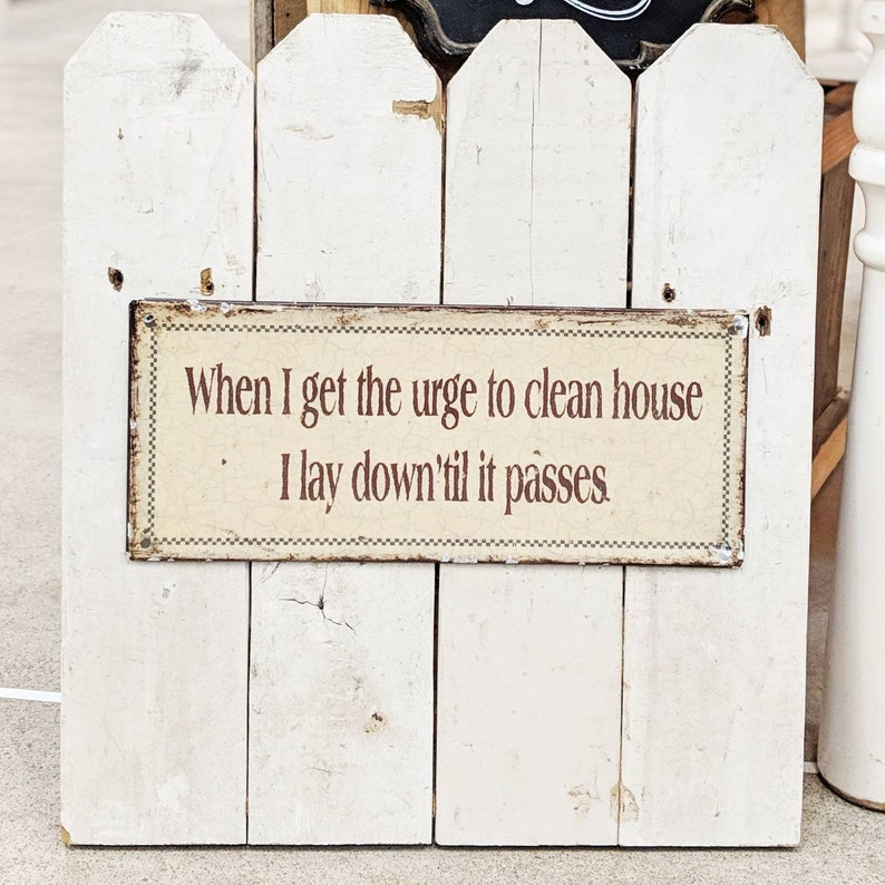 Funny Cleaning Sign, Laundry Room Sign, Funny Mom Quote, Gifts For Mom or  Grandma, Bathroom Sign