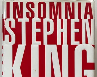Vintage Book (1994) - Insomnia by Stephen King