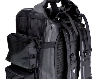 Mission Darkness Dry Shield Faraday Backpack 40L - weatherproof & waterproof for for shielding electronic devices in the rain, snow, or dirt