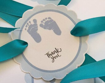 Baby Shower Favour Tags