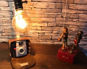 Lampesorignales deco antique vintage photograph lampesoriginales.com loft deco vintage camera