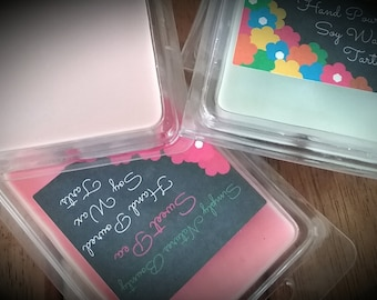 Wax Melts / Candle Tarts / Candle Melts / Soy Wax / Hand Poured