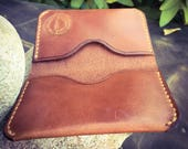 Made To Order: Full Grain Leather Folded Card Wallet