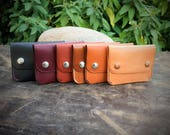 Made to Order: Leather Minimalist Snap Wallet