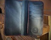 Petite Bifold Gentleman's Jacket Wallet - Bifold Tall Wallet