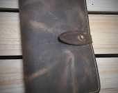 "Leather Moleskin Notebook Cover - Small 3.5""x5.5"" ~ Birthday, Anniversary or Valentines Day Gift"