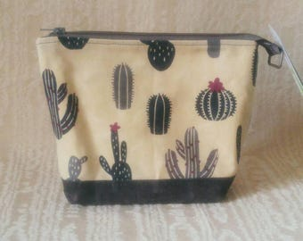 Small Day Bag in Cactus and Grey waxed cotton, Canadian, 1867Shop, Crossbody,