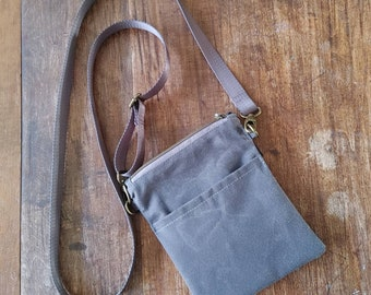 Small Cellphone Walker Bag. Perfect size for your Cell, Keys, Passport and Cash or Cards. Simple, Functional Design