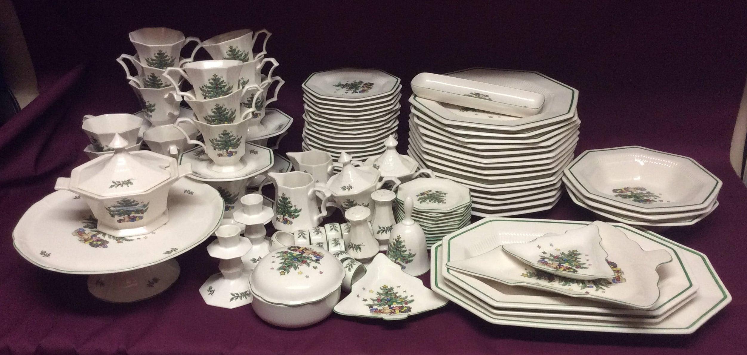 Vintage Nikko Classic Collection - Christmastime White Porcelain ...
