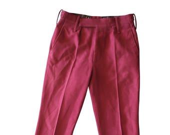 No.2 Dress Army The Royal Hussars Men's Trousers/Pants - Vintage - Uniform - E377
