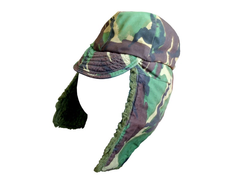 Extreme Cold Weather Hat - Size Small - British Army - DPM Camouflage