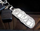2020 Toilet Paper TP Keychain Key Fob, Snap Tab, Zipper Pull, Charm