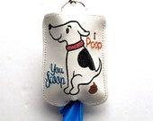 Dog Poop Bag Holder - Multiple Colors Available