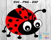 LadyBug, LadyBird, Love Bug SVG PNG DFX Digital Download