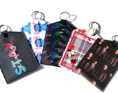 Vaccine Card Holder - Vaccination Card Pouch - Pattern or Solid Pouches