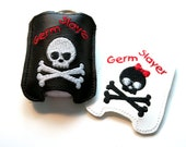Germ Slayer Hand Sanitizer Holder Clip On Pouch