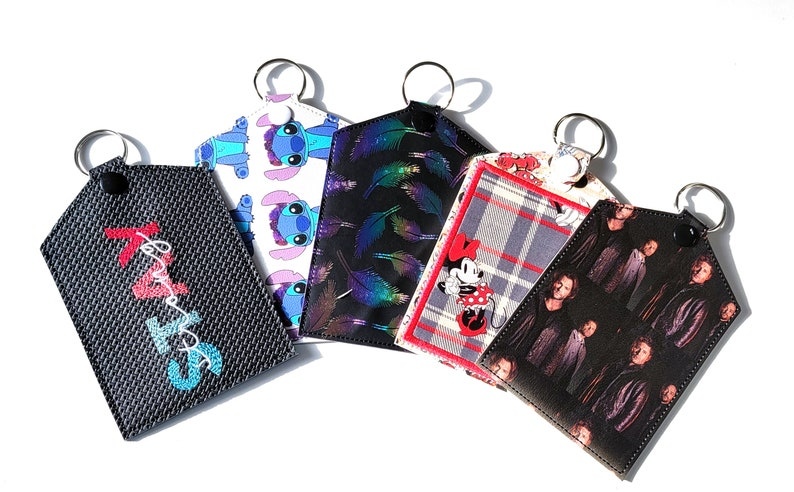 Vaccine Card Holder  Vaccination Card Pouch  Pattern or image 0