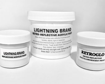 Lightning Brand Reflective Paint and RETROGLO